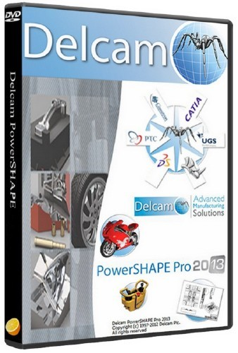 Delcam PowerSHAPE 2013 SP0 + PS-Catalogues 2013 SP0 + Обновление SP1 (2012/ ...