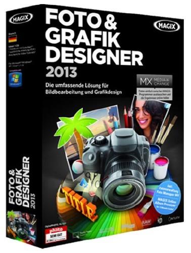 MAGIX Foto & Grafik Designer 2013 8.1.2.22581 (GERMAN)