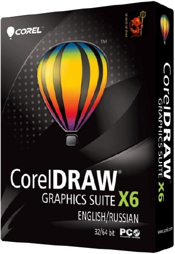 CorelDRAW Graphics Suite X6 16.1.0.843 [English + Russian] by Krokoz