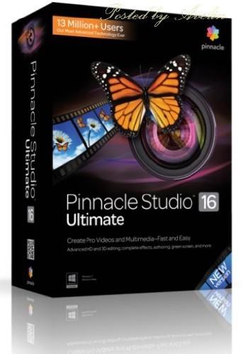 Pinnacle Studio 16 Ultimate 16.0.1.98 Multilingual