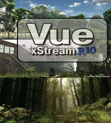 Vue R10 Xstream Inc Extras and Tutorials X-FORCE (Win/Mac)