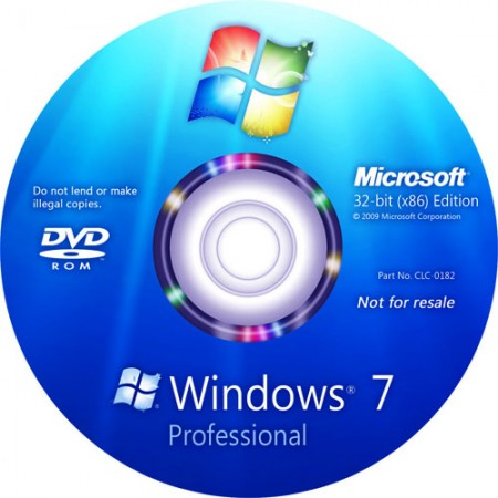 Windows 7 Professional SP1 x86 Lite (2011/RUS)