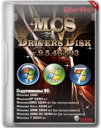 MCS Drivers Disk v9.5.46.593 x86/x64 (2012)