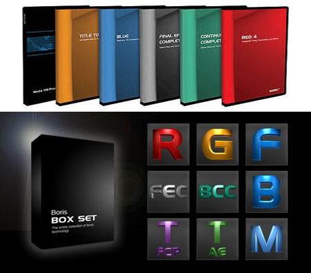 Boris Box Set for Adobe After Effects (x64)