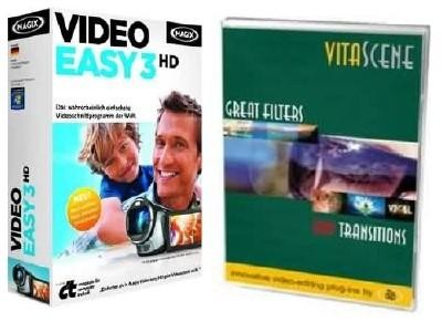 MAGIX Video Easy 3 HD 3 + proDAD VitaScene 2 (2012)