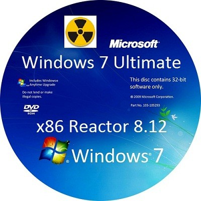 WINDOWS 7 ULTIMATE x86 REACTOR 8.12 (2012/RUS)