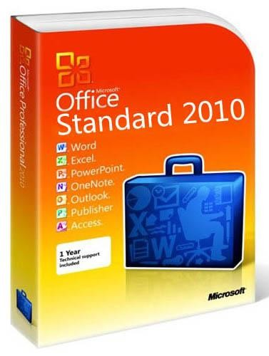 Microsoft Office Standard 2010 SP1 ru-RU 14.0.6112.5000 (x86-x64) Обновлени ...