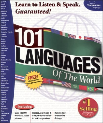 101 Languages of the World (Complete 4CDs) Interactive Tutorial (Reuploaded).