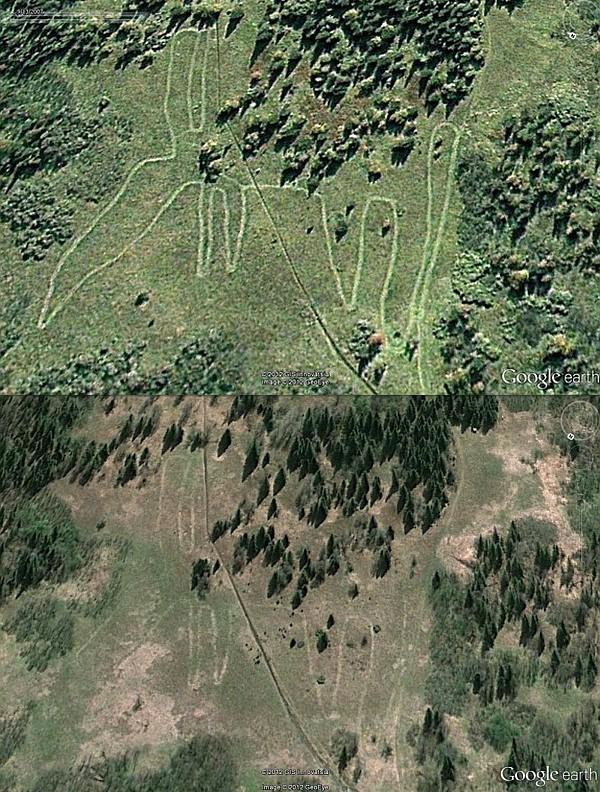 На Урале найден древний гигантский геоглиф