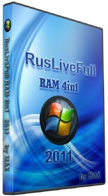 RusLiveFull RAM 4in1 by NIKZZZZ CD/DVD (2011/RUS)