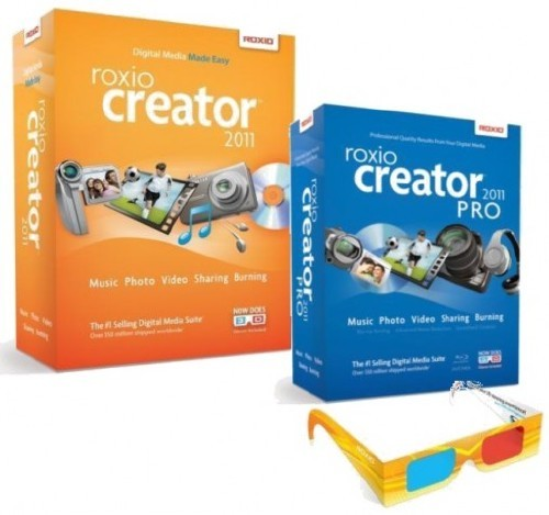 Roxio Creator 2011 PRO (w/Serial) (Now With 3D) 2Disc ISO