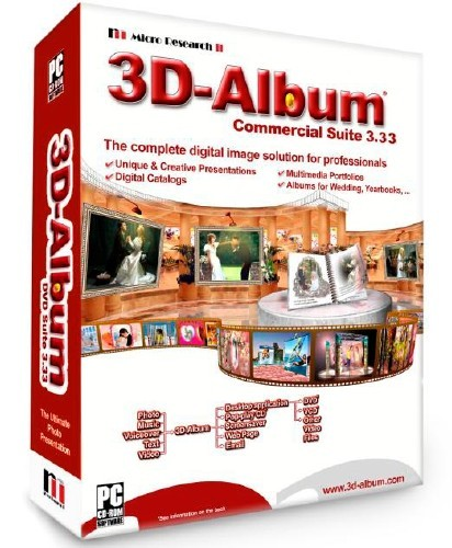 3D-Album Commercial Suite 3.33 (2012/ENG/RUS) Portable