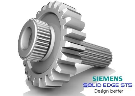 Siemens Solid Edge ST5 Build 105.00.00.102 Incl Standart Parts Libraries
