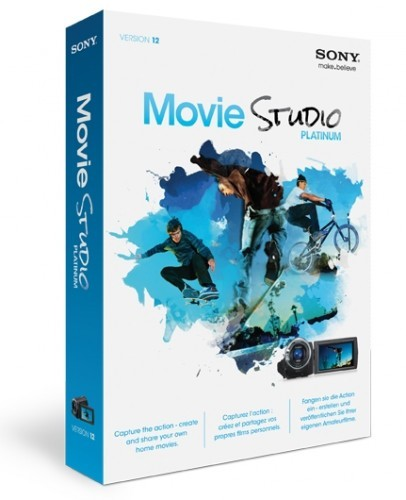 SONY Vegas Movie Studio HD Platinum 12.0 Build 333-334 (32bit and 64 bit) + ...