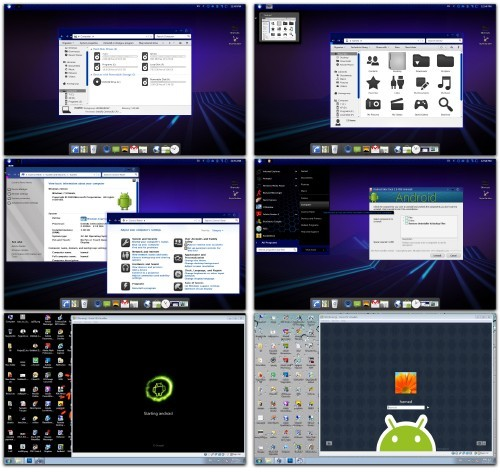 Android Honeycomb Skin Pack for Windows 7 (32 bit and 64 bit)