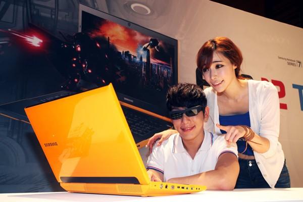 Samsung представляет ноутбук Series 7 с поддержкой 3D-контента