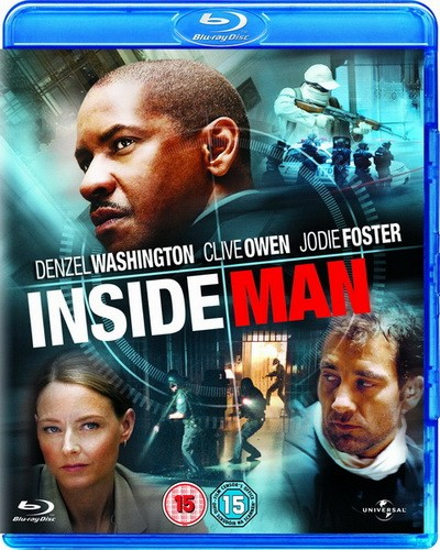 Не пойман - не вор / Inside Man (2006) BDRip 720p