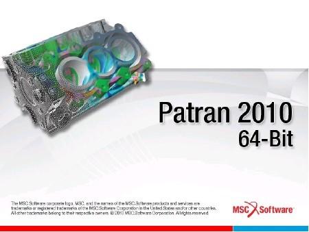MSC Patran 2010 [ (2010.1.2) x64, 2011, ENG ]