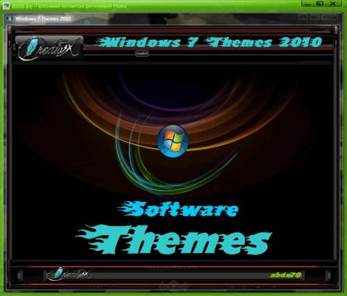 Themes Windows 7 New creativx Mega Pack