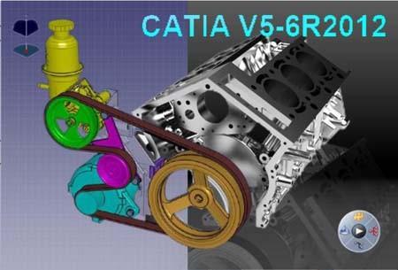 DSS CATIA V5-6R2012 P2 GA (SP0) Win32 & Win64 Multilanguage + Documentation - SolidSQUAD
