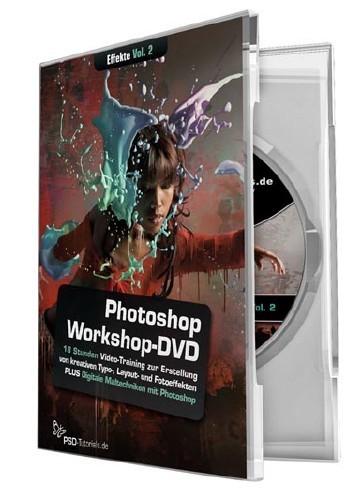 Photoshop Workshop DVD: Effekte fur Typo Layout und Foto Vol.2 GERMAN