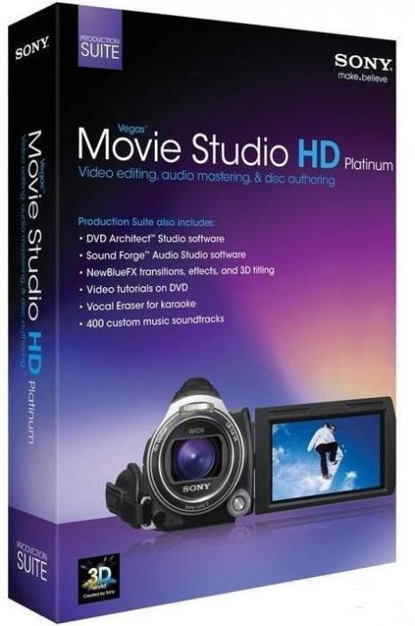Vegas Movie Studio HD Platinum 11 Production Suite v.11.0.283 (x32/x64/ML/RUS) - Тихая установка