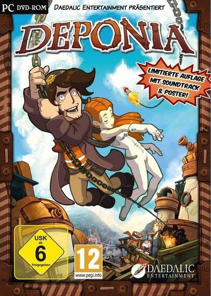 Deponia (2012/ENG/RePack by Audioslave)