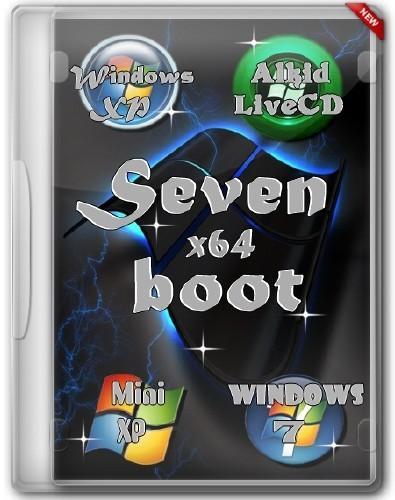 Seven-boot . Мультизагрузочный DVD&USB x64 (2012/Rus/Eng)