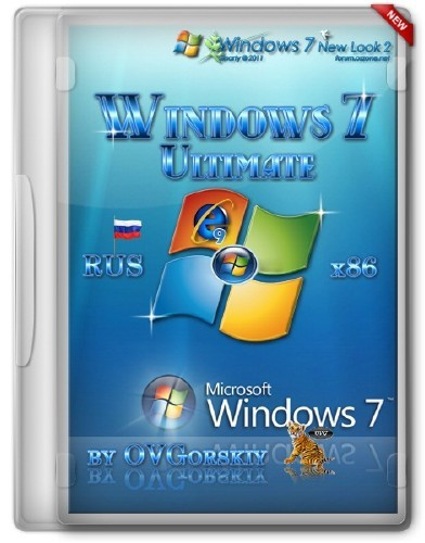Windows 7 Ultimate Rus x86 SP1 NL2 by OVGorskiy® 06.2012