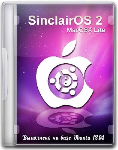 SinclairOS 2: MacOSX Lite (Июнь 2012/x86/ML/Rus)