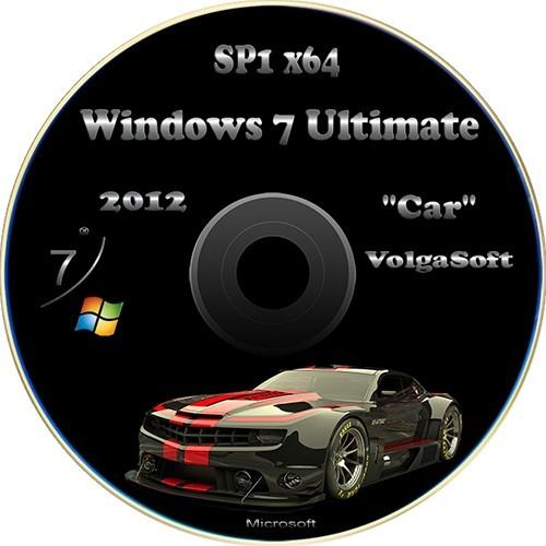 Windows 7 Ultimate SP1 x64 VolgaSoft v.2.5 (Car)