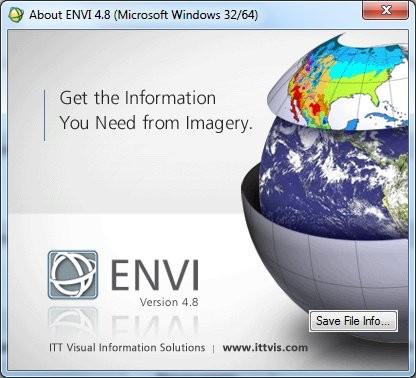 Envi [ v.4.8 + EnviEx 4.8 + SARscape 4.3, x86 + x64, 2010, ENG ]