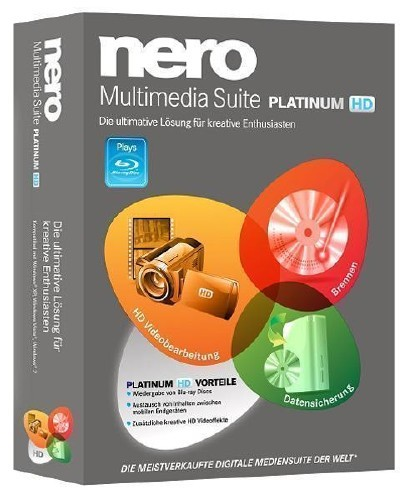 Nero Multimedia Suite Platinum 11.0.15500 Rus
