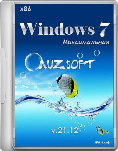 Windows 7 Максимальная miniWPI AUZsoft v.21.12 (x86/RUS/2012)