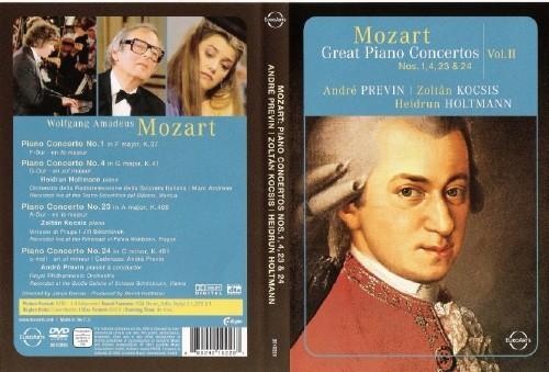 [DVD9 + Booklet] Mozart - Concerto per pianoforte e orchestra n 1, 4, 23, 24 (K37, K41, K488, K491) [Musica Classica]