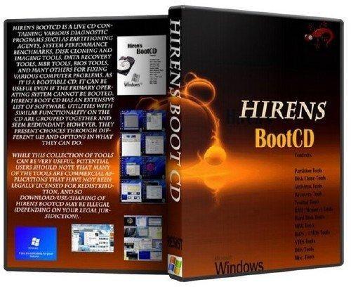 Hiren's BootCD 14.0 Adv + 14.1 + 15.0 Rebuild by DLC v3.0 (2011/ ENG/RUS/x32/x64/30.11.2011)