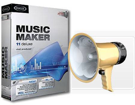 Magix Music Maker 11 Deluxe