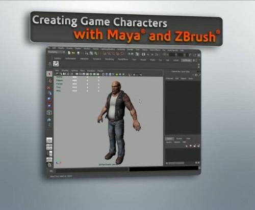 Creating Game Characters with Maya 2011 and ZBrush 4