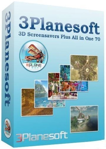 3Planesoft 3D Screensavers Plus All in One 70 (2011/ENG/RUS)