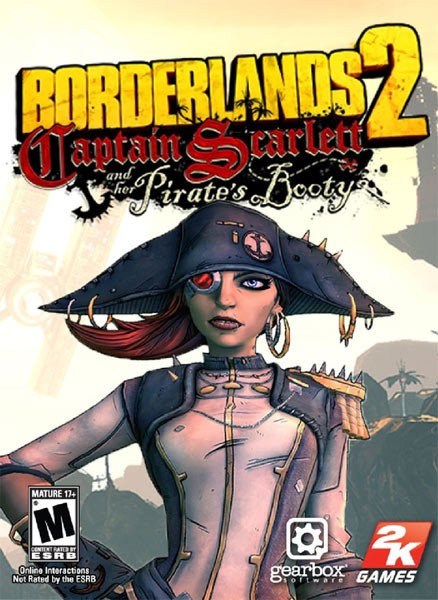 Borderlands 2: Captain Scarlett and Her Pirate's Booty (2012/ENG/MILTi6/Add-on)
