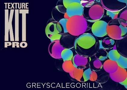 GreyscaleGorilla Texture Kit Pro 2 For Cinema 4D