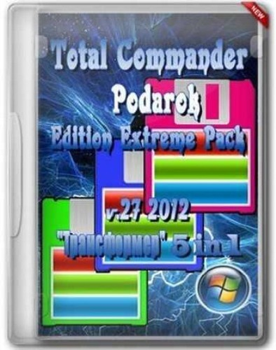 Total Commander Podarok Edition Extreme Pack 27 2012 Portable
