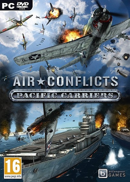 Air Conflicts: Pacific Carriers. Асы Тихого океана (2012/RUS/Multi6/Repack R.G ReCoding)