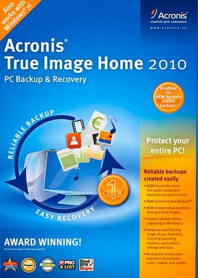 Acronis True Image Home 2010 13.0.0 Build 7160 + Plus Pack + BootCD (Rus)