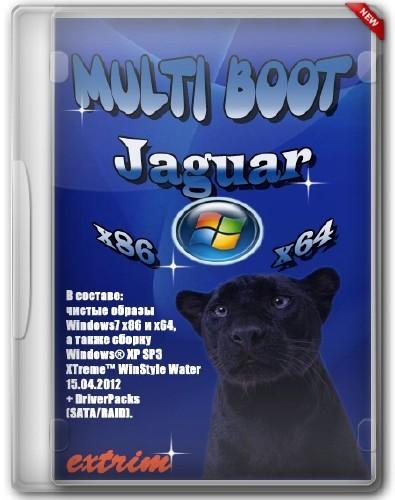 Multi Boot Jaguar v1.0 (2012/x86/x64/Eng/Rus)