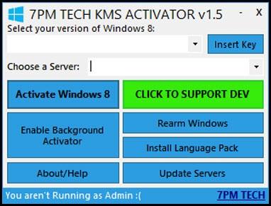 W 8 KMS Activator v1.5.1