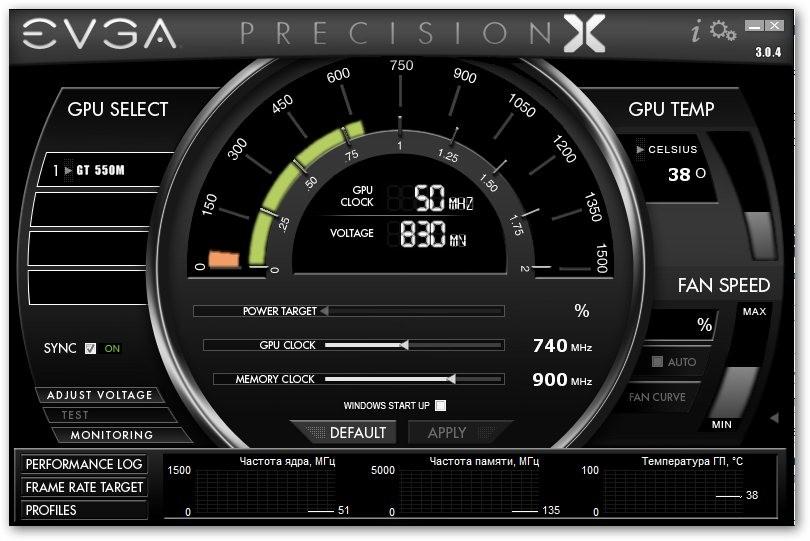 EVGA Precision X 3.0.4