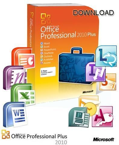 Microsoft Office 2010 Professional Plus With SP1 VL Edition x64 Bit