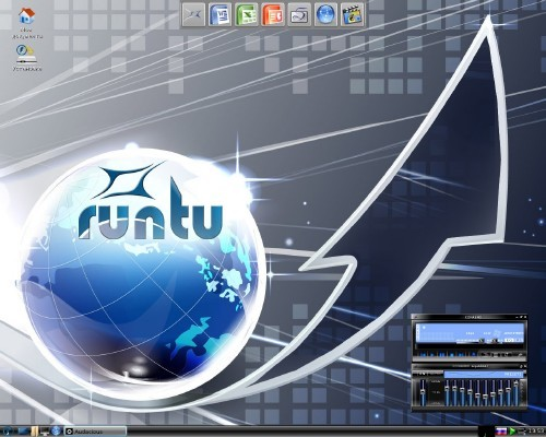 Runtu Gnome 12.04 - 201205 (2012) PC
