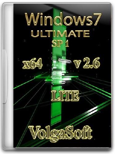 Windows 7 Ultimate SP1 x64 VolgaSoft Lite v 2.6 (2012/RUS)